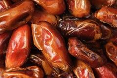Fruits de datte sèche d'amende Image stock