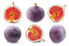 Fruits de figues sur le blanc Image stock