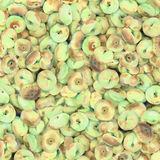Fruits de fond d'aquarelle Photographie stock libre de droits