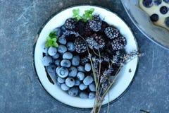 Fruits de forêt photographie stock
