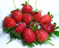 Fruits de fraise Images libres de droits