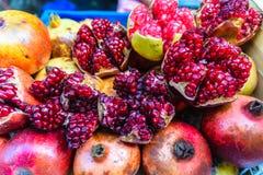Fruits de grenade Photos stock
