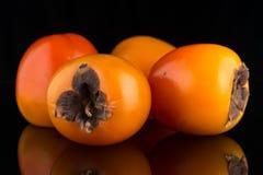 Fruits de kaki Photos libres de droits