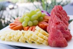 Fruits de mélange pour après des repas Images libres de droits