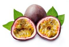 Fruits de Maracuja Photos libres de droits