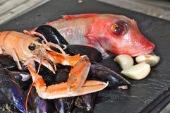 Fruits de mer Photos stock