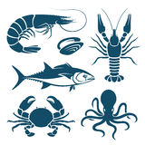Fruits de mer illustration libre de droits