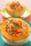 fruits de mer de melon Photographie stock libre de droits