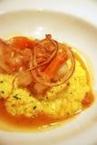 fruits de mer de risotto photos stock