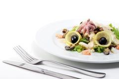 fruits de mer de salade photo libre de droits