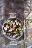 Fruits de mer de soupe photo libre de droits