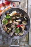 Fruits de mer de soupe photographie stock
