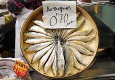 fruits de mer du marché Image libre de droits
