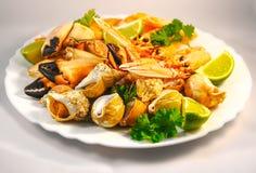 Fruits de mer mélangés Image libre de droits