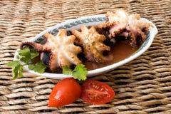 Fruits de mer - poulpe Photo stock