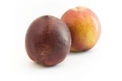 Fruits de nectarine Photos stock