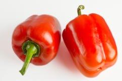 Fruits de paprika se trouvant sur une table légère image stock