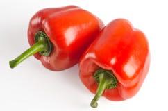 Fruits de paprika se trouvant sur une table légère photos stock