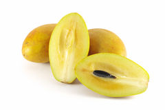 Fruits de Sapota images stock