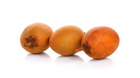 Fruits de sapotille Photos libres de droits