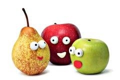 Fruits de sourire Image libre de droits