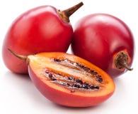 Fruits de tamarillo avec la tranche Photo libre de droits