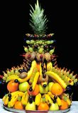 Fruits decorations stock photography