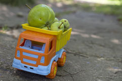 Fruits Delivery Stock Photos