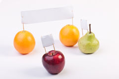 Fruits demonstrate and protest Stock Photo