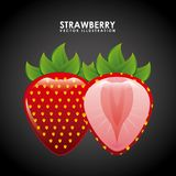 Fruits design Royalty Free Stock Image