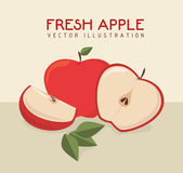 Fruits design Royalty Free Stock Images