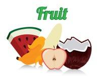 Fruits design Royalty Free Stock Photos