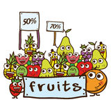 Fruits design Royalty Free Stock Photo