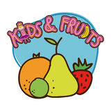 Fruits design Royalty Free Stock Photo