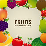Fruits design Stock Photography