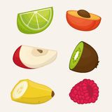 Fruits design. Royalty Free Stock Photography