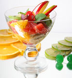 Fruits dessert Stock Images