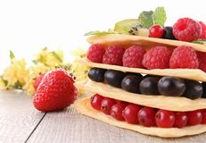 Fruits dessert Royalty Free Stock Photo