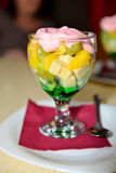 Fruits dessert. Stock Image
