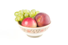 Fruits on a dish Stock Photography
