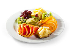 Fruits Dish Stock Photo