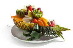Fruits Dish Royalty Free Stock Images