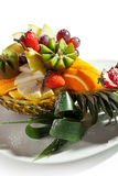 Fruits Dish Stock Photography
