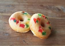 Fruits doughnut Royalty Free Stock Photography