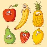 Fruits drôles Illustration Stock