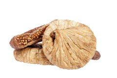 Fruits of dried fig isolated on white background Stock Photo