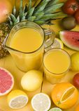 Fruits Drink Stock Photo