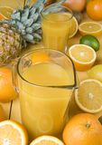 Fruits Drink Royalty Free Stock Photos