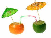 Fruits drink Stock Image