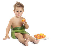 Fruits eating Stock Photography